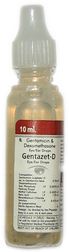 gentamicin and dexamethasone eye and ear drops
